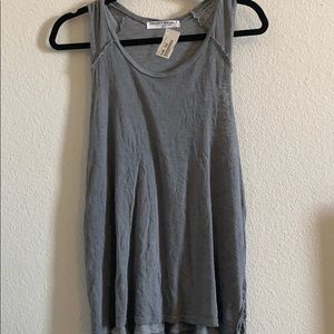 NWT grey project social T tank